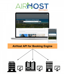 AirHost PMS、独自の予約販売サイトの自社開発を可能にする『AirHost API for Booking Engine』提供開始